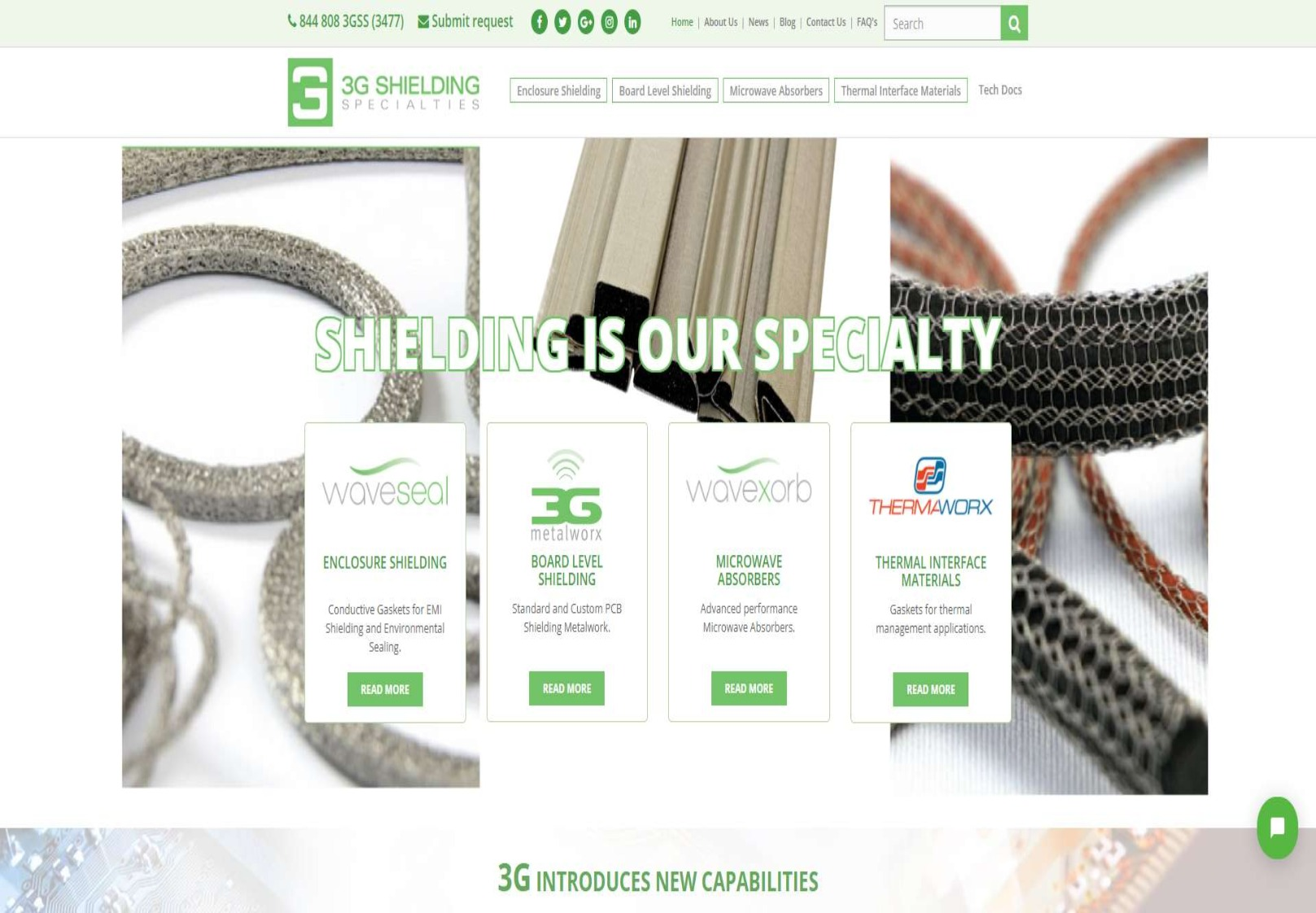 3g website design